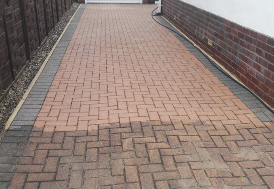 Lincs Driveway Cleaning Block Paving